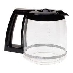 CUISINART/WARING - 12 Cup Coffee Maker Carafe - 12-cup replacement carafe. For use with models: CHW-12, DCC-1200, DCC-1100BK, DGB-550BK, DGB-625BC, DGB-700BC, DCC-2650 black.