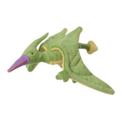 Go Dog - Go Dog Terry The Pterodactyl Dinosaur Dog Toy with Chew Guard - 770794 - Shop for Dog Toys from Hayneedle.com! Let your dog tap into his animal instincts when he lets loose some Jurassic energy on GoDog Terry The Pterodactyl Dinosaur Dog Toy with Chew Guard. This durable chew toy is crafted with a plush body that incorporates the Chew Guard technology to keep it together during even the roughest play. Thanks to this durable design it will be years before their favorite toy goes extinct. Available in a range of sizes.