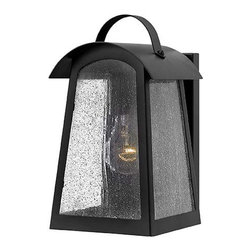 Hinkley Lighting - Hinkley Lighting 2650BK Putney Bridge Black Outdoor Wall Sconce - Hinkley Lighting 2650BK Putney Bridge Black Outdoor Wall Sconce