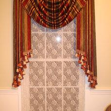 Traditional Window Treatments by Custom Design Windows