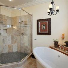 Mediterranean Bathroom by DreamMaker Bath & Kitchen