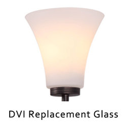DVI - DVI Replacement Glass - This is a replacement glass only. The glass is compatible with DVP8344-ORB-OP or DVP8355-ORB-OP.