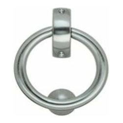 Smedbo - Smedbo Finish Ring Door Knocker, Chrome - Smedbo Finish Ring Door Knocker, Chrome