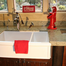 Traditional Kitchen Sinks by Herbeau America / Winckelmans Tiles