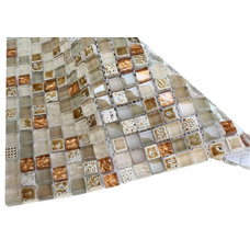 Contemporary Mosaic Tile by Glass Tile Store