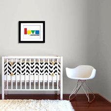 Modern Nursery Decor by Etsy