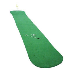 Big Moss Golf Long Putt 60 6' X 60' Practice Putting Chipping Green - COMES WITH:- SMALL CHIPPING MAT- INSTRUCTION MANUAL- 3 BREAK SNAKES
