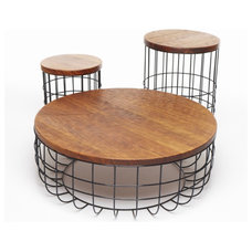 Eclectic Side Tables And Accent Tables by Dare Studio