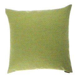 "Canaan - 24"" x 24"" Hollywood Green Throw Pillow - Hollywood green throw pillow with a feather/down insert and zippered removable cover. These pillows feature a zippered removable 24"" x 24"" cover with a feather/down insert. Measures 24"" x 24"". These are custom made in the U.S.A and take 4-6 weeks lead time for production."
