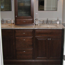 Transitional Vanity Tops And Side Splashes by Valley Elegance Kitchen & Bath