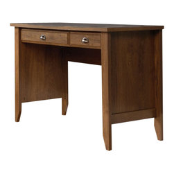 Sauder - Sauder Shoal Creek Computer Desk in Oiled Oak - Sauder - Computer Desks - 410416
