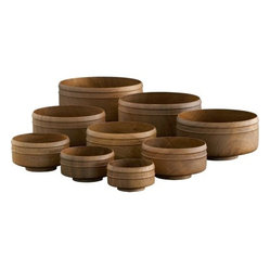 jain monk bowls set of nine