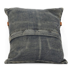 Zuo Modern - Zuo Modern Jean Era Cushion X-02289 - Made from recycled denim fabric sewn into a whimsical design, the Jean cushion is a must for any room.
