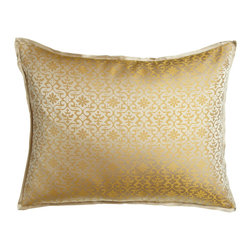 Ann Gish - Byzantine Standard Sham - PEARL - Ann GishByzantine Standard ShamDetailsMade of silk.Select color when ordering.Dry clean.Imported.