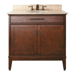 "36"" Marciana Single Bath Vanity - Tobacco -"