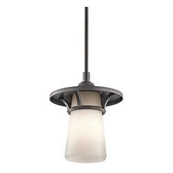 Kichler Lighting - Kichler Lighting 49373AVI Lura Modern / Contemporary Outdoor Pendant Light - Kichler Lighting 49373AVI Lura Modern / Contemporary Outdoor Pendant Light