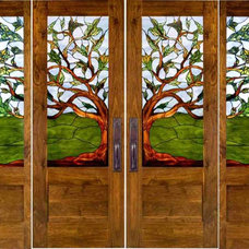 Eclectic Front Doors by calarchitecturaltraditions.com