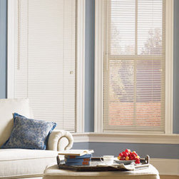 Bali - Bali Northern Heights Collection 1-inch Wood Blinds - 1-inch slats are a great choice for small windows, sidelights and French doors - part of Bali's premier line of hardwood blinds.