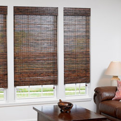 Bamboo Woven Wood Shades - BlindsChalet.com