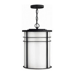 Hinkley Lighting - Hinkley Lighting 1122VK Ledgewood Black Outdoor Hanging Lantern - Hinkley Lighting 1122VK Ledgewood Black Outdoor Hanging Lantern