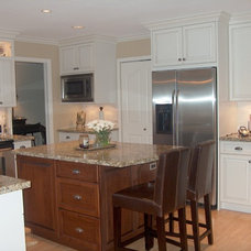 Kitchen Cabinetry by Style Line Custom Hardwood Doors & Wood Products