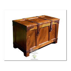 Mission Storage Units and Cabinets - This beautiful Bridal Chest is an identical Historic Reproduction of Gustav Stickley's Bridal Chest Catalog #26 Circa 1902.  It is 100% Handcrafted in the United States by our Master-Craftsmen and Guaranteed for Life!