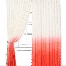 eclectic window treatments by Anthropologie