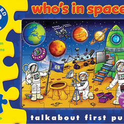 "The Original Toy Company - The Original Toy Company Kids Children Play Who's in Space - This colorful Space jigsaw includes an activity guide to help encourage your child's development. Ages: 3 years plus. Pieces: 25 Reference guide included. Puzzle size: 16.5""x12"" Gender: Both Weight: 1 lbs."
