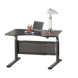 "Jesper Office Furniture - 2000 Series 47"" Prestige Sit-Stand Desk - Features:"