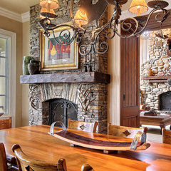 traditional fireplaces by Peggie Rhodes & Associates