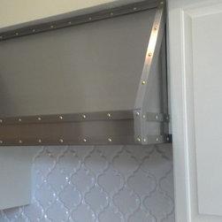 Stainless steel hood vent conver - Custom stainless steel hood vent cover installed http://www.riversidesheetmetal.net/hood-vents/