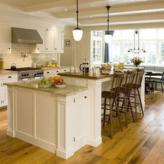 custom island - traditional - kitchen -
