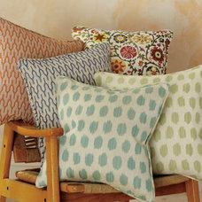 Asian Decorative Pillows by Garnet Hill