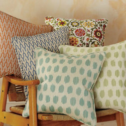 Gallery Pillow Cover Collection - There are endless options when it comes to adding pattern to a bed. Go solid with your basics and spice things up with some fun throw pillows.