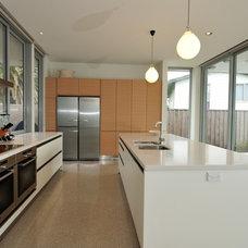 Contemporary Kitchen by jessop  architects