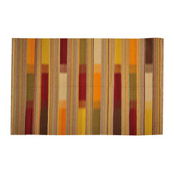 Flat Weave Hand Woven Durie Kilim 6'x9' 100% Wool Colorful Oriental Rug SH15731 - Soumaks & Kilims are prominent Flat Woven Rugs.  Flat Woven Rugs are made by weaving wool onto a foundation of cotton warps on the loom.  The unique trait about these thin rugs is that they're reversible.  Pillows and Blankets can be made from Soumas & Kilims.