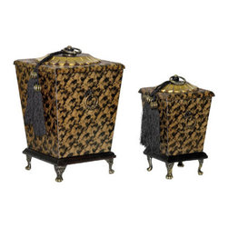 Sterling Industries - Sterling Industries 89-1585 Box Decor - Set of 2 Parisian Boxes