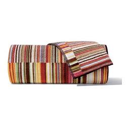 Missoni Home - Missoni Home | Jazz Red Bath and Hand Towel 5 Piece Set - Design by Rosita Missoni.