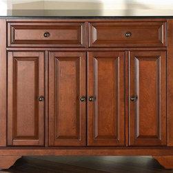 Crosley Furniture Lafayette Solid Black Granite Top