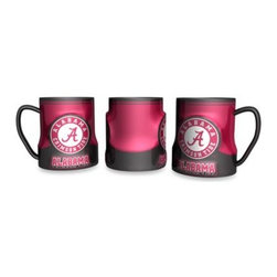 Boelter Brands Llc - 20-Ounce Sculpted Team Coffee Mug - University of Alabama - Show your team spirit and enjoy your morning coffee with this fun and generously sized 20-ounce ceramic mug. Colorfully decorated with raised official team logo graphics.