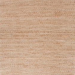 Jaipur Rugs - Natural Solid Pattern Jute/Cotton Beige /Brown Rug - HM05, 3.6x5.6 - Handwoven in Jute and soft fibers and materials like; Chenille, rayon yarn and cotton, the Himalaya collection has a variety of textures and looks, all at home in a variety of living environments.