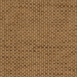 Sudan Weave - Earth - Ralph Lauren's collection of woven wallpapers from the Textures III book.