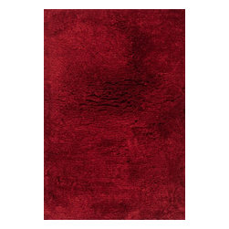 Loloi Rugs - Loloi Rugs Mason Shag Crimson Transitional Hand-Tufted Rug X-656300SC10-HMOSAM - Hand-tufted in India of 100% polyester, the Mason Shag Collection offers an irresistibly soft feel to glide your feet across. Available in a multitude of on-trend colors, Mason Shag instantly adds comfort and style to a family room, bedside, and more - all at an affordable price.