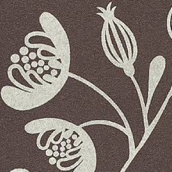 Heaven Scent 308 Fabric - This floral felt fabric is very durable and provides a luxurious look and feel for any modern furniture piece.