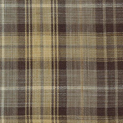 Plaid/Check - Truffle Upholstery Fabric - Item #1009928-578.
