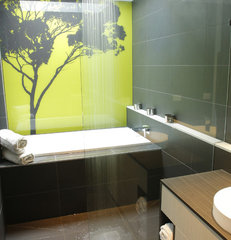 contemporary bathroom by Altereco Design