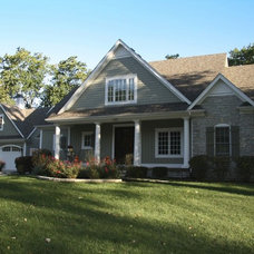 Traditional Exterior by Ed Saloga Design Build