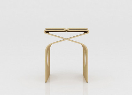 contemporary bedroom benches by Miso Soup Design
