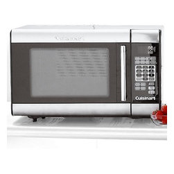 Cuisinart CMW100 Stainless Steel Microwave - Cuisinart makes this really sweet microwave. I love its simple yet elegant almost–space-age look.