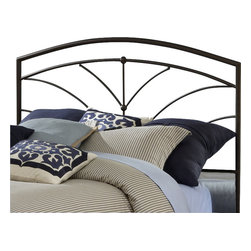 Hillsdale - Hillsdale Thompson Metal Headboard in Bronze-King - Hillsdale - Headboards - 1568HKR